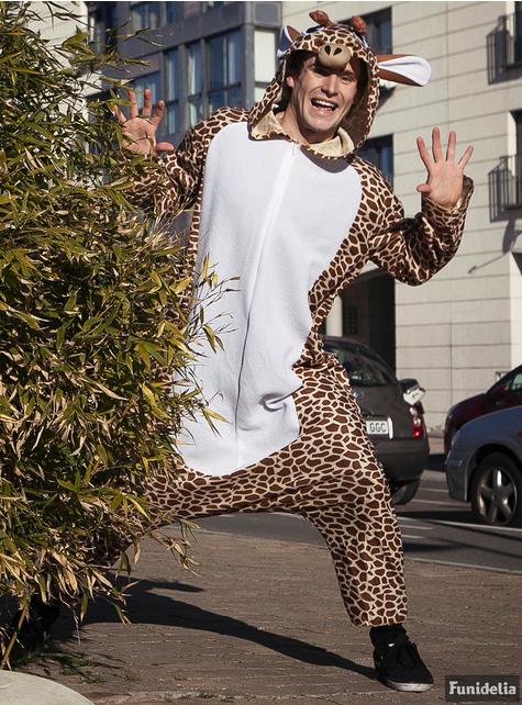 Kostium onesie Żyrafa dla dorosłych
