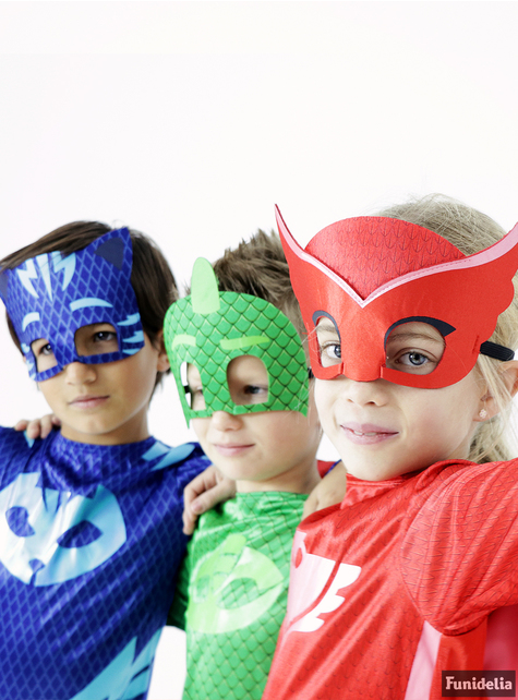 Fato Gekko PJ Masks Classic para menino