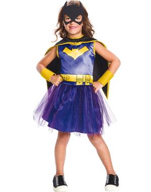 Batgirl Kostüm mit Tutu classic für Mädchen