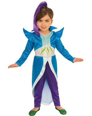 Зета костюм для дівчаток - Shimmer і Shine