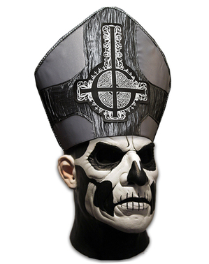 Máscara de Papa Emeritus II deluxe - Ghost