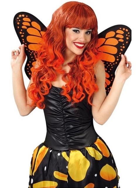 Alas de Mariposa Naranja