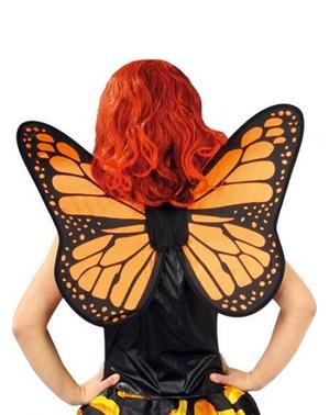 Sommerfugle vinger orange