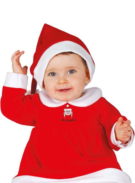 Schattig kerstvrouw kostuum voor baby