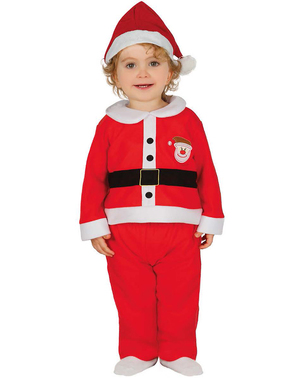 Déguisement adorable père Noël bébé