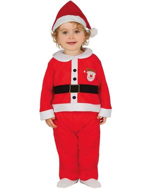Niedliches Weihnachtsmann Kostüm für Babys