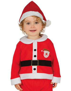 Babies Adorable Father Christmas Costume