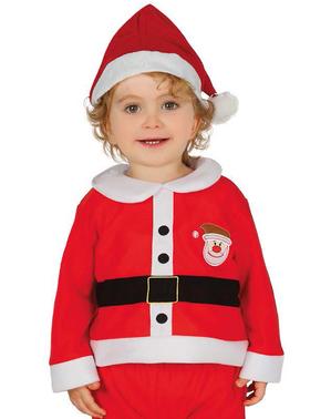 Strój sympatyczny Święty Mikołaj dla niemowląt