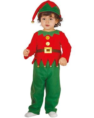 Klassieke elf kostuum voor baby