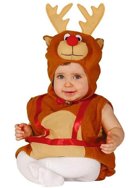 Niedliches Rentier Kostüm für Babys