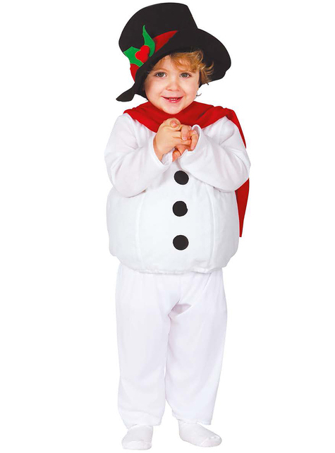 Babies Sweet Snowman Costume