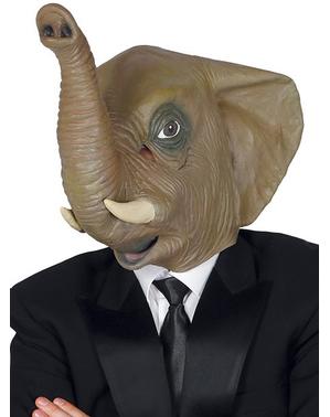 Elegantti elefanttinaamio