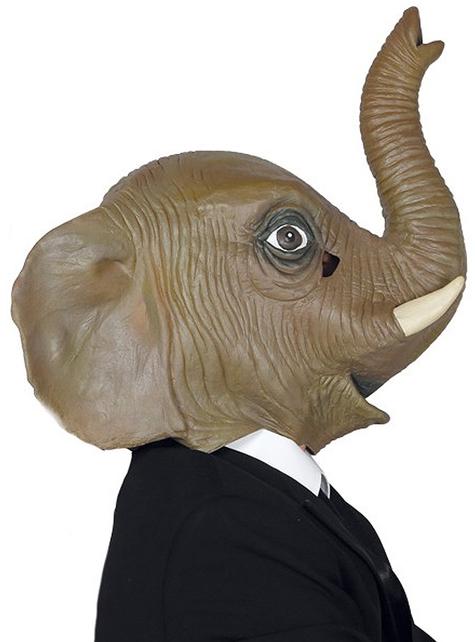 Elegant elephant mask