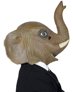 Elegant elefant Mask