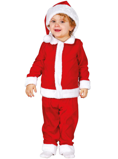 Babies Sweet Father Christmas Costume