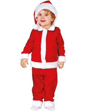 Disfraz de Papá Noel tierno para bebé