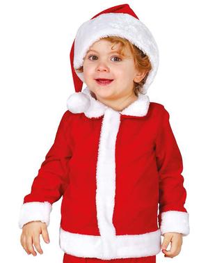 Kostium miękki Święty Mikołaj dla niemowlaka