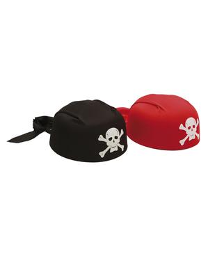 Adult's Red Pirate Bandana