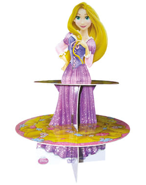 Rapunzel cupcake stativ - Disney Prinsesser