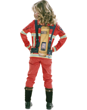 T-shirt pompier enfant