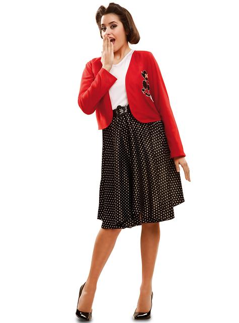 50'er kostume til kvinder