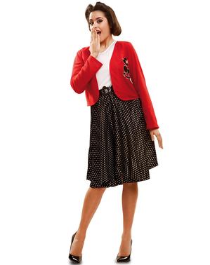 Costum de tânără anii 50 pentru femeie