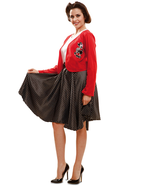 Modisches 50er Jahre Kostüm für Damen