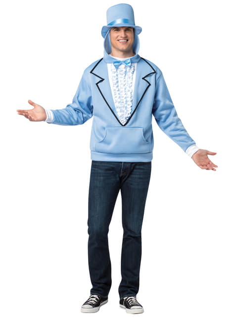 Dumb and Dumber Blue Hooded Jacket for Adults