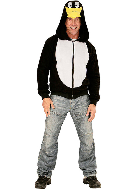 Suéter de pinguim alegre para adulto