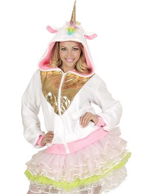 Jachetă unicorn multicolor pentru adult