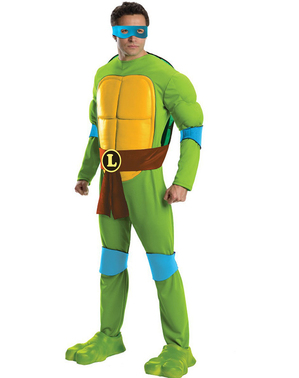 Делукс костенурки от нинджа Леонардо костюм за възрастни