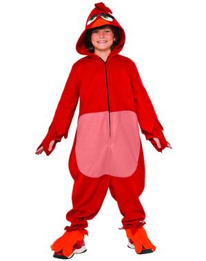 Red Angry Birds Kostüm für Kinder
