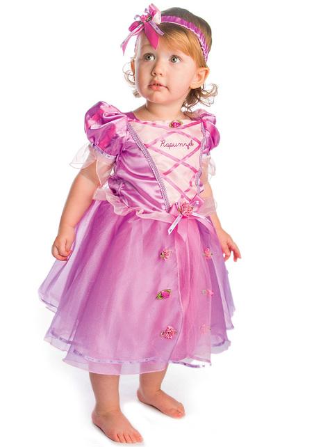 Disfraz de Rapunzel para bebé