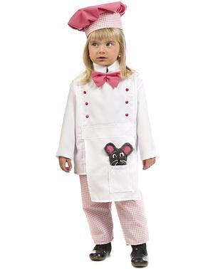 Chef kostuum voor baby's