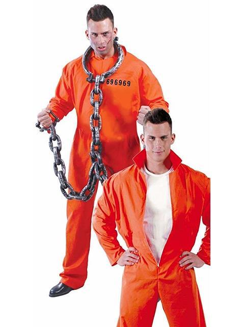 Prision uniform costume