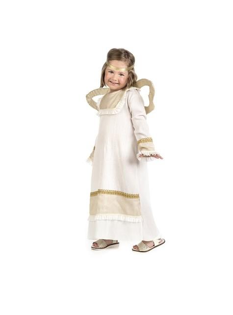 Disfraz de ángel dorado para niña