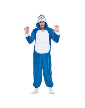 Doraemon Onesie kostume til voksne