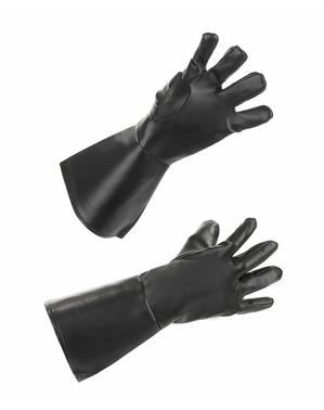 Adult's Black Denim Gloves