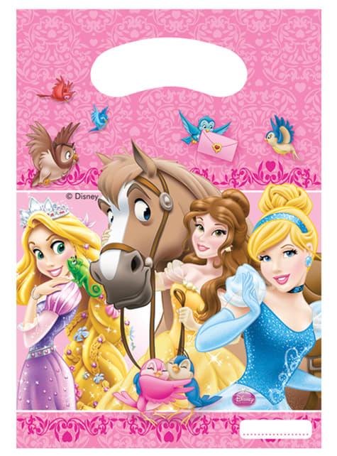 Set de 6 bolsas Princess & Animals