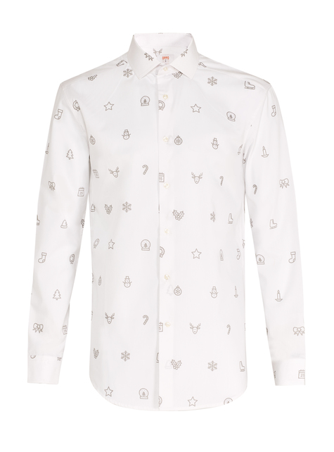 Camisa de Christmas Trees Opposuits para hombre