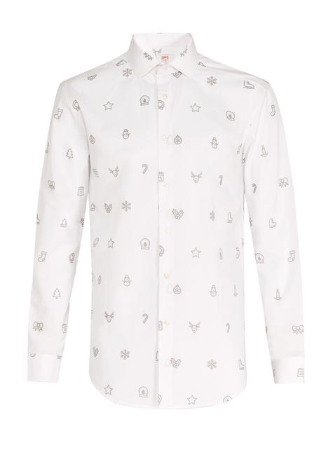 Christmas Trees Shirt Opposuit for Men