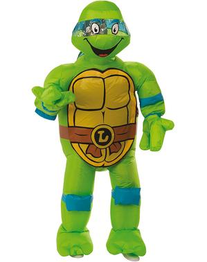 Leonardo Oppblåsbart kostyme - Ninja Turtles