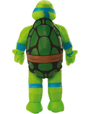 Opblaasbaar Leonardo kostuum - Ninja Turtles