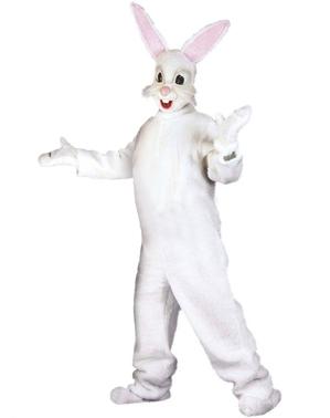 Costume da coniglietto con orecchie per adulto