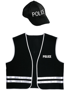 מבוגרים כוחות משטרה מיוחדים ערכת תחפושת