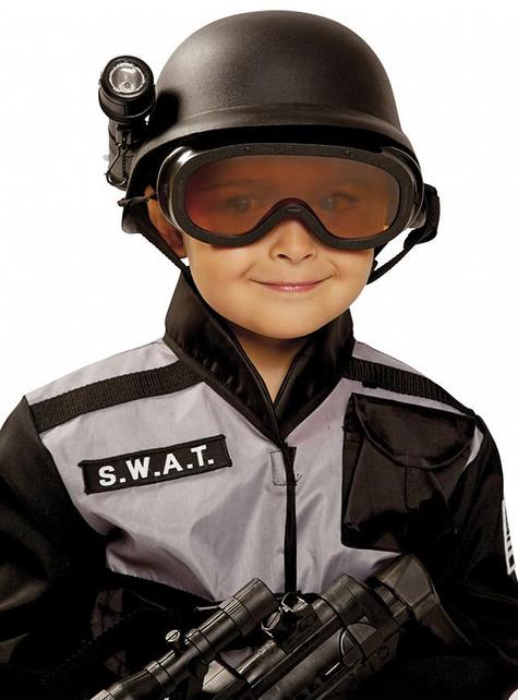 Casco de SWAT infantil