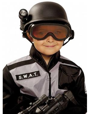 Capacete de SWAT infantil