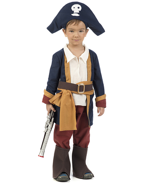 Boy pirate costume for babies