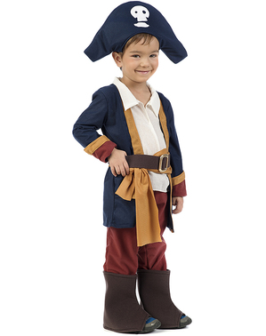Fato de pirata rapaz para bebé