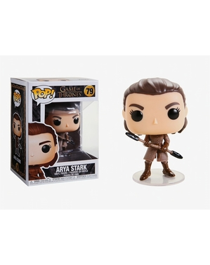 Funko POP! Arya Stark - Headed Spear - 게임의 왕좌